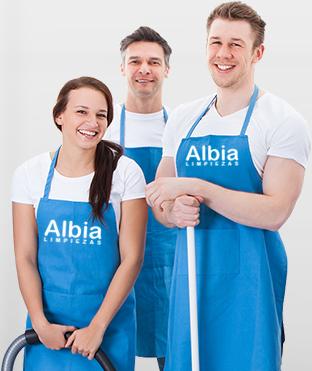 razones para contratar a limpiezas Albia