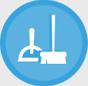 Limpieza de terrazas, patios y aceras